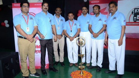 Honda 2Wheelers India celebrates International Truck Drivers Day 2017