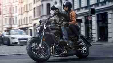 Kawasaki Vulcan S Metallic Flat Spark Black colour