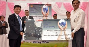Yamaha donates cut section engine models to ITI Colleges