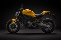 2018 Ducati Moster 821 yellow