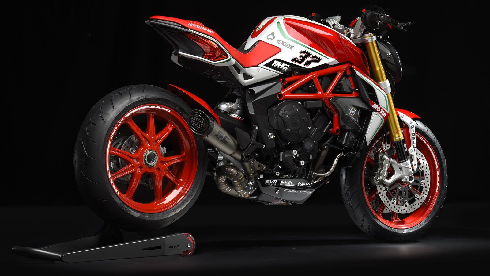 No One Seemed to Notice that the MV Agusta Dragster 800 RR