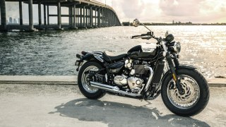 2018 Triumph Bonneville Speedmaster HD wallpaper