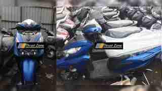 Honda Grazia scooter