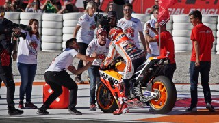 Marc Marquez is the 2017 MotoGP World Champion