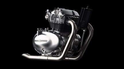 Royal Enfield 650cc Twin Engine RHS view
