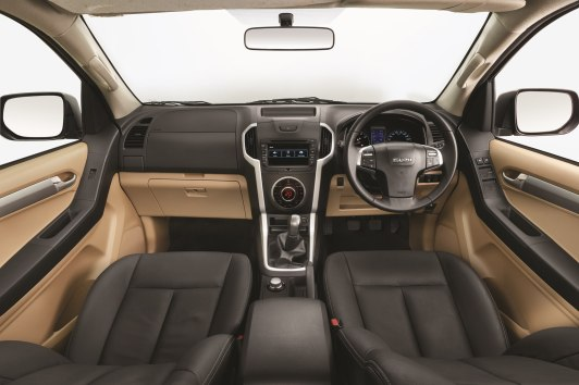 2018 ISUZU D-MAX V-Cross -Dashboard-View