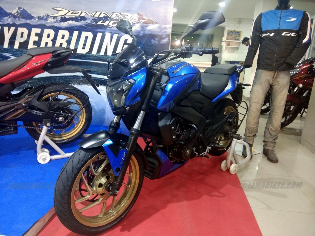 Dominar 400 colour options blue