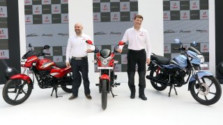 Dr. Markus Braunsperger and Mr. Malo Le Masson Hero Motocorp