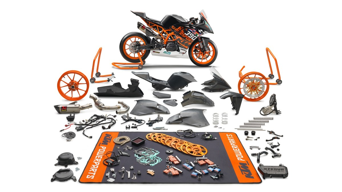 Limited Edition Ktm Rc390 R And A Ssp300 Race Kit For It Announced Racing Wiring Harness Quickshifter Spare Wheels Huge Selection Of Gearing Options Increased Cooling System Full Bodywork Made From Lightweight