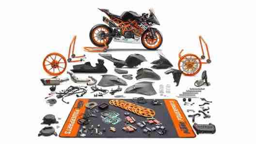 KTM RC390 R SSP300 race kit