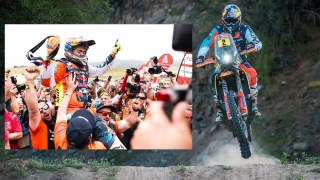 Red Bull KTM Factory Racing win Dakar 2018 with Matthias Walkner