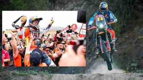 Red Bull KTM Factory Racing win Dakar 2018 with Matthias Walkner