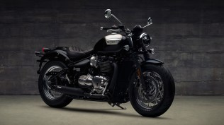 2018 Triumph Bonneville Speedmaster with Maverick Kit