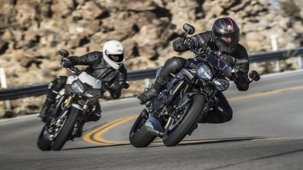 2018 Triumph Speed Triple