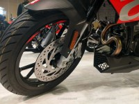 Aprilia RS 150 and Tuono 150 front tyre and disc