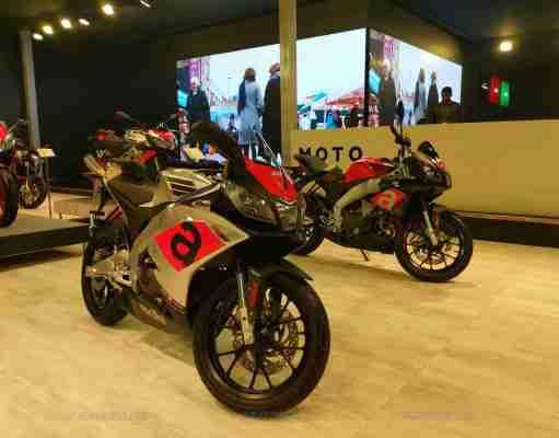 Aprilia RS 150 and Tuono 150