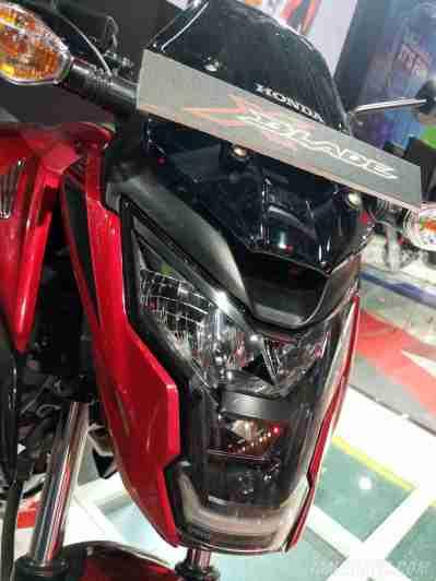 Honda XBlade headlight