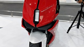 TVS Creon electric scooter concept