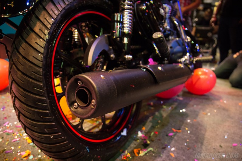 Thunderbird 350X silencer