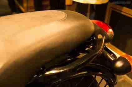 Thunderbird 500X pillion grab rail