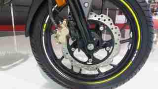 2018 Honda CB Hornet 160R single channel ABS