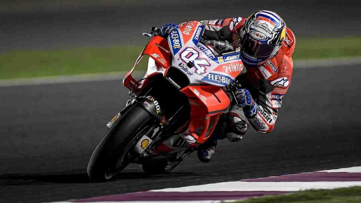 Andrea Dovizioso MotoGP Qatar 2018