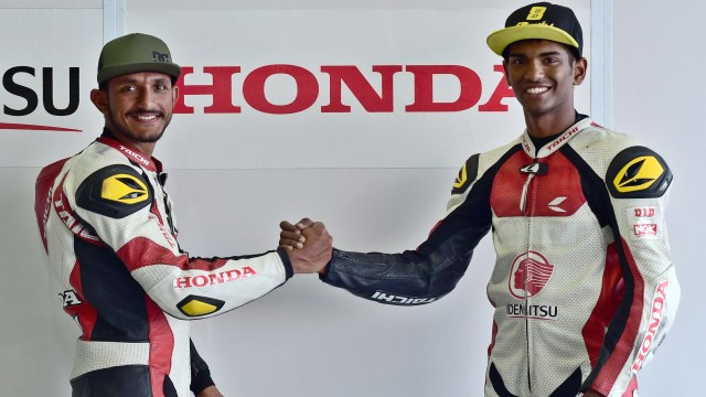 Riders Rajiv Sethu and Anish D. Shetty