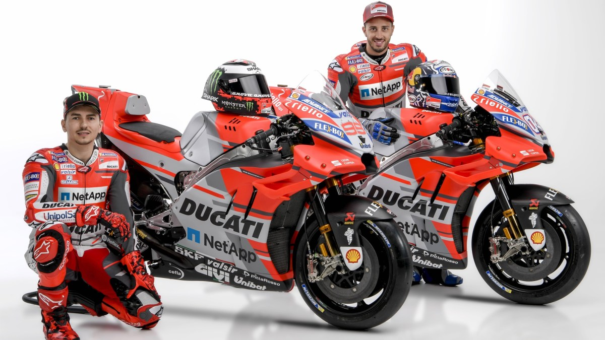 Riello UPS to sponsor Ducati MotoGP team