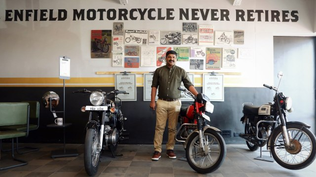 Royal Enfield Vintage Store Chennai with Mr Shaji Koshy