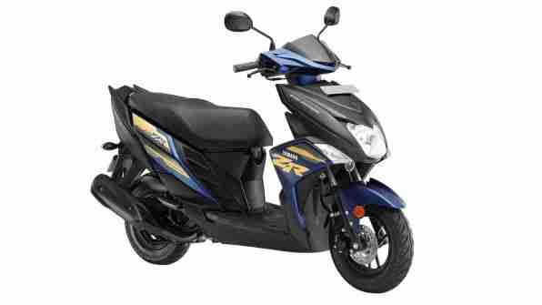 Yamaha Ray ZR Armada Blue colour option