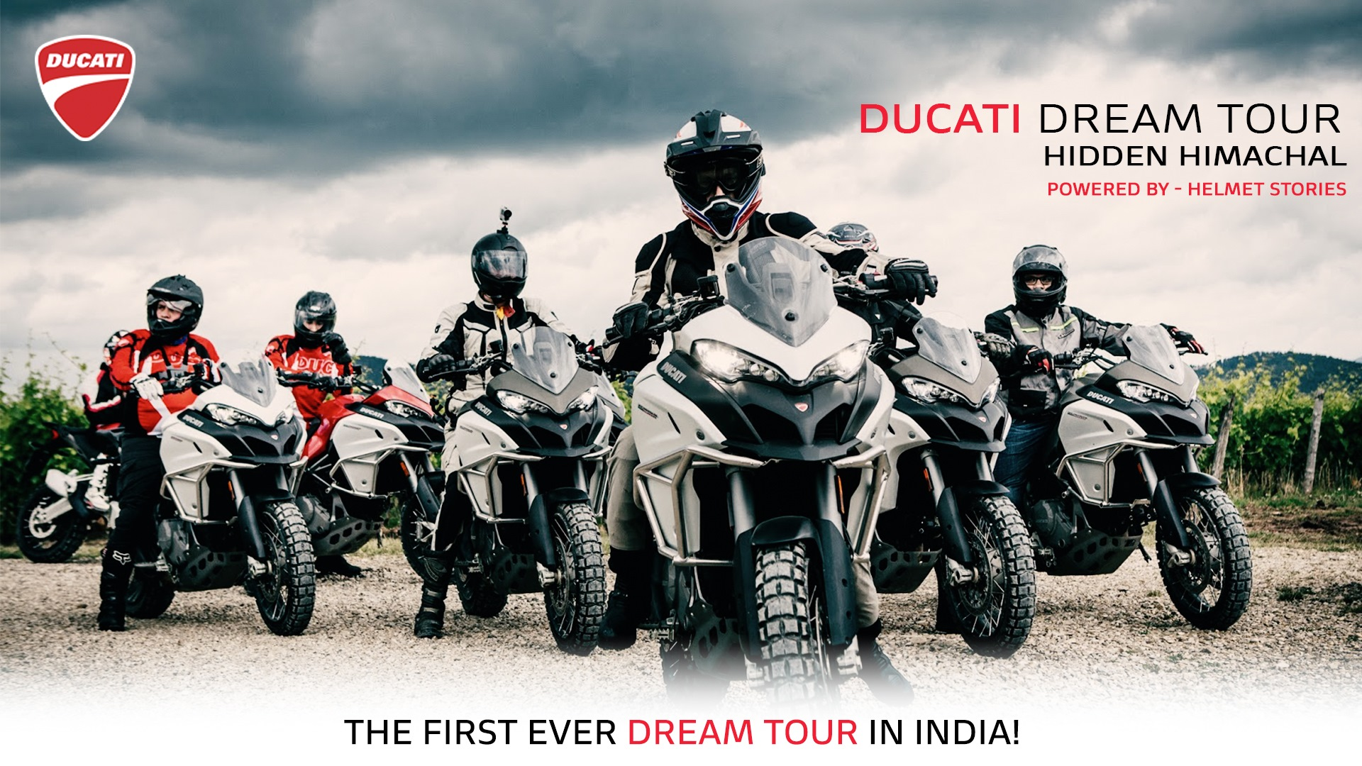 First ever India Ducati Dream Tour announced