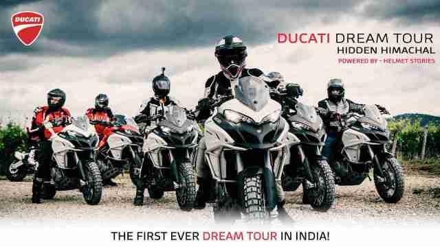 First ever India Ducati Dream Tour announced