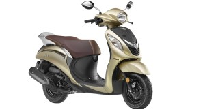 Yamaha Fascino gold colour option