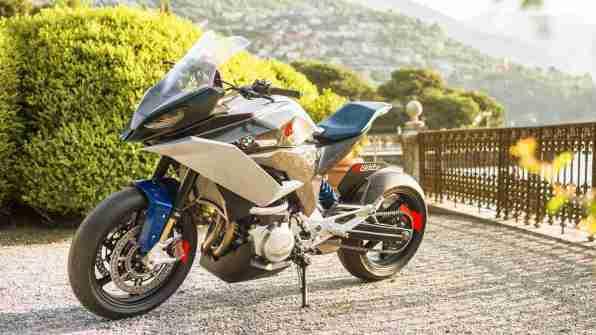 BMW Motorrad Concept 9cento HD wallpapers