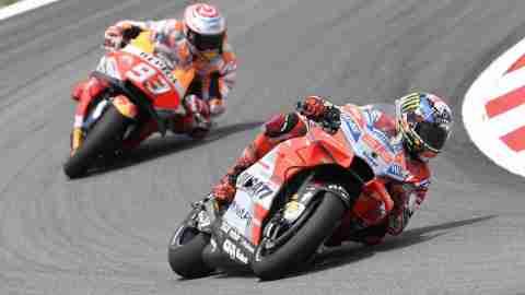 Jorge Lorenzo continues dominant form at Catalan MotoGP
