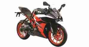 New black colour option for the KTM RC 200 announced