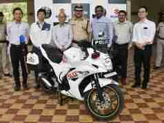 Suzuki Gixxer SF for Indian Police