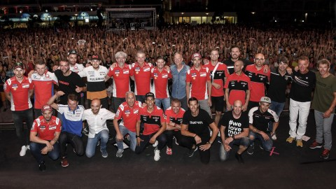 10th edition of World Ducati Week a massive success