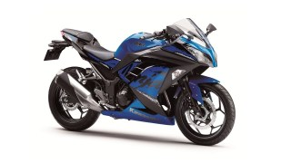 2019 Kawasaki Ninja 300 Blue colour option