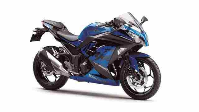 2019 Kawasaki Ninja 300 Blue colour option