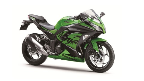 2019 Kawasaki Ninja 300 Green colour option for India