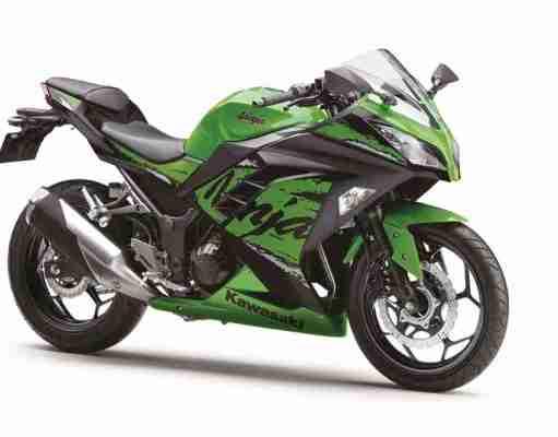 2019 Kawasaki Ninja 300 Green colour option for India