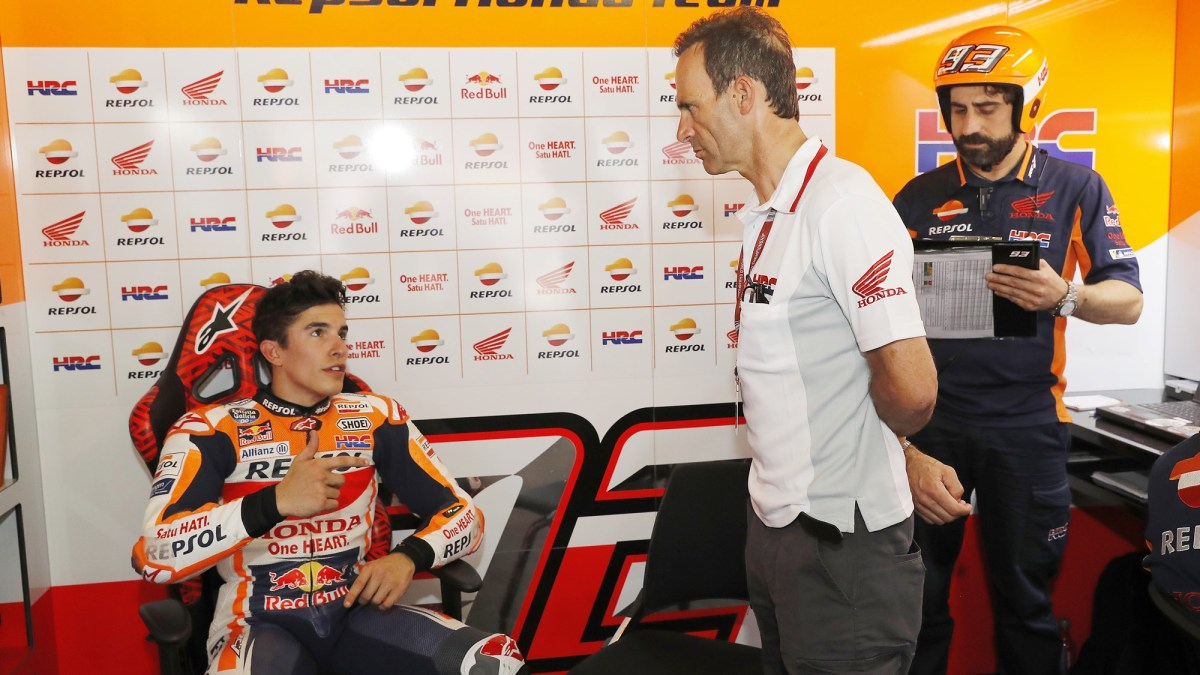 Alberto Puig speaks about Marc Marquez