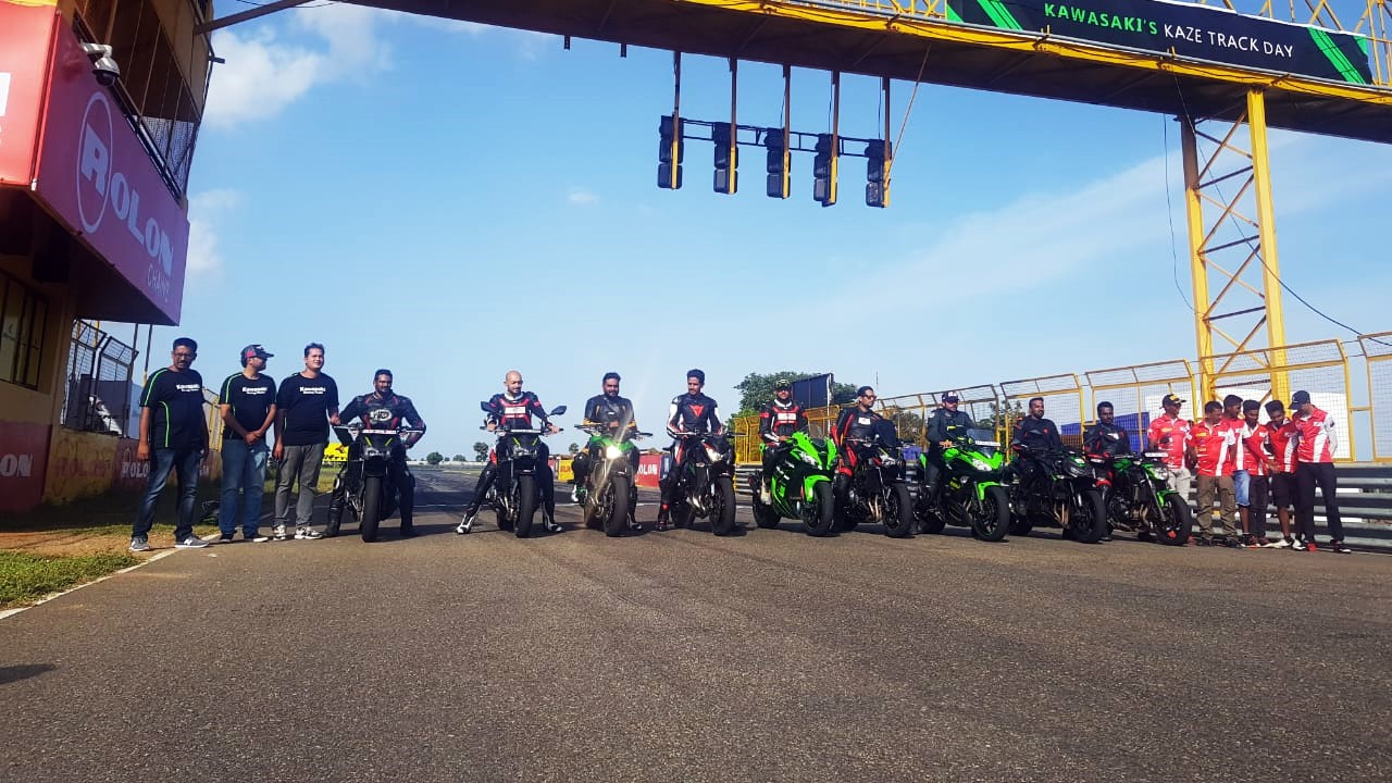 Kawasaki conducts track day for owners
