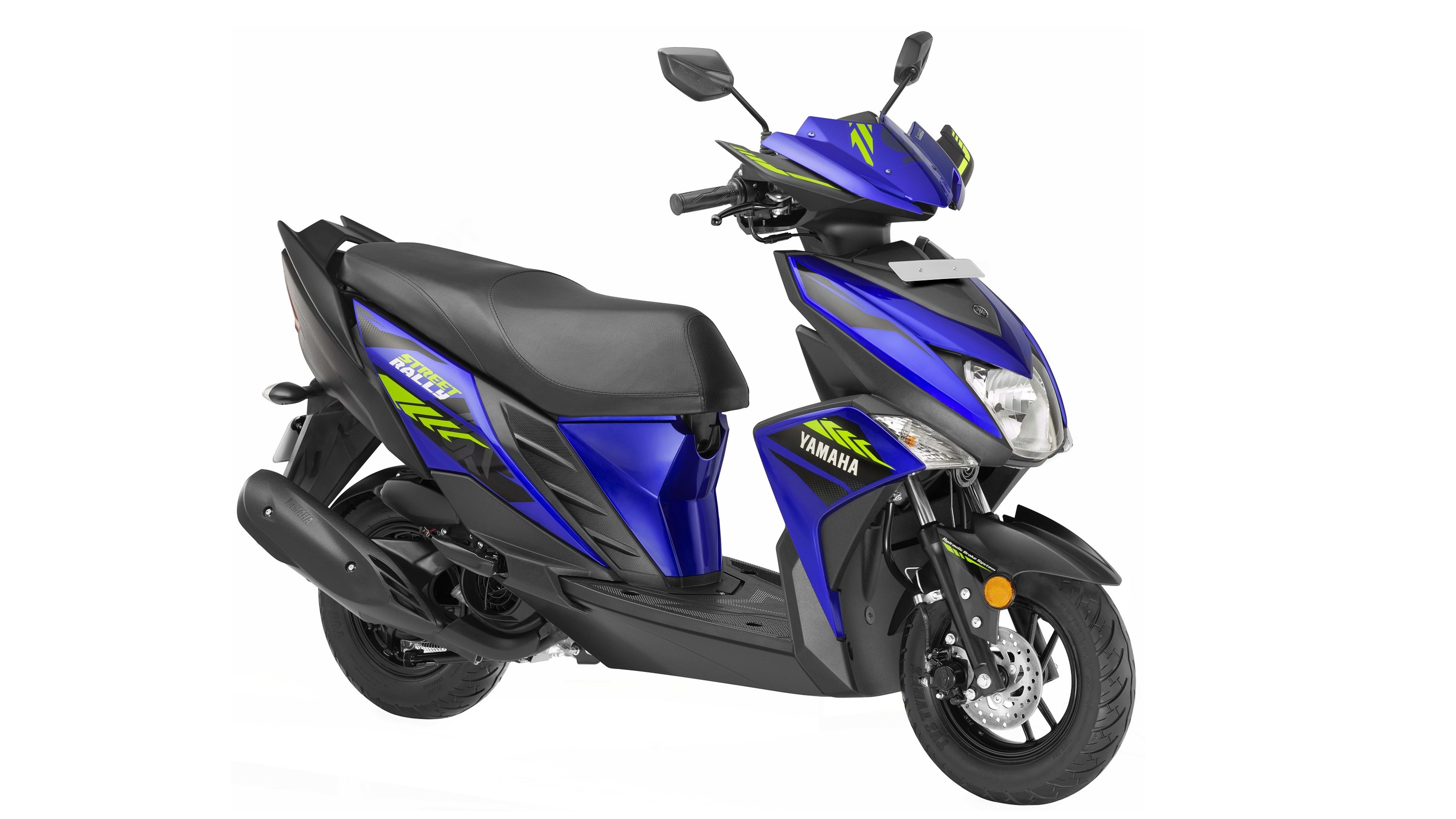 Yamaha Cygnus Ray ZR 'Street Rally' Edition colour option blue