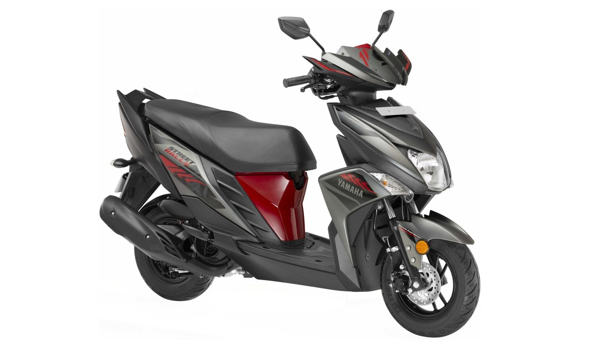 Yamaha Cygnus Ray ZR 'Street Rally' Edition colour option red