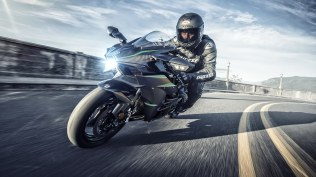 2019 Kawasaki Ninja H2 HD wallpaper