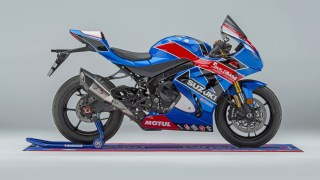 Limited edition Buildbase Suzuki replica GSX-R1000R HD wallpaper