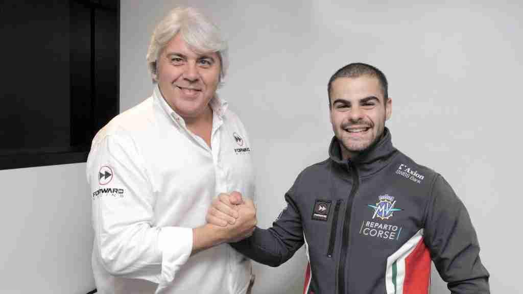 Romano Fenati to ride for MV Agusta