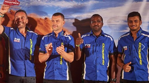 Sherco TVS Factory Rally Team PanAfrica Rally 2018